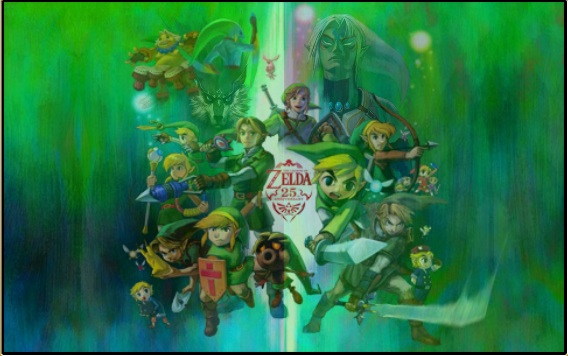 Wii U Screen Savers : Zelda japandaman