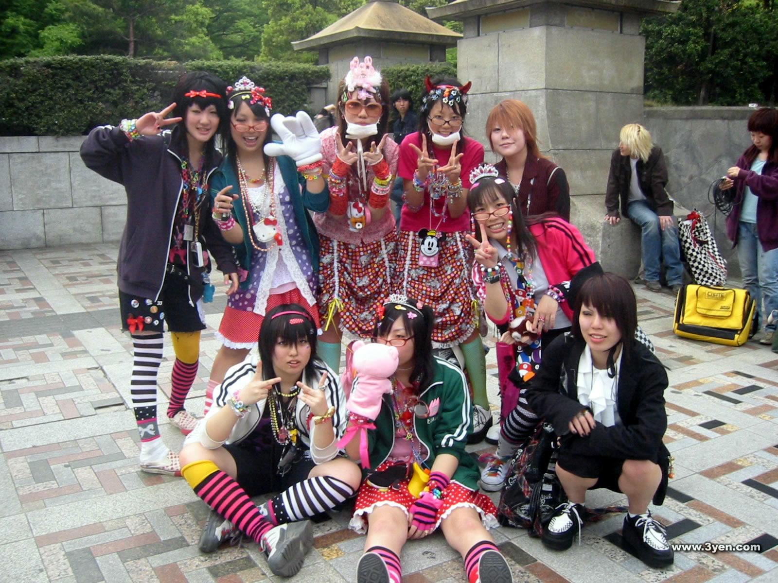Фото японских тинейджеров 17 фотография