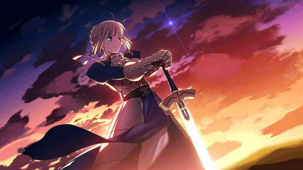 Fate/extra Ccc Saber