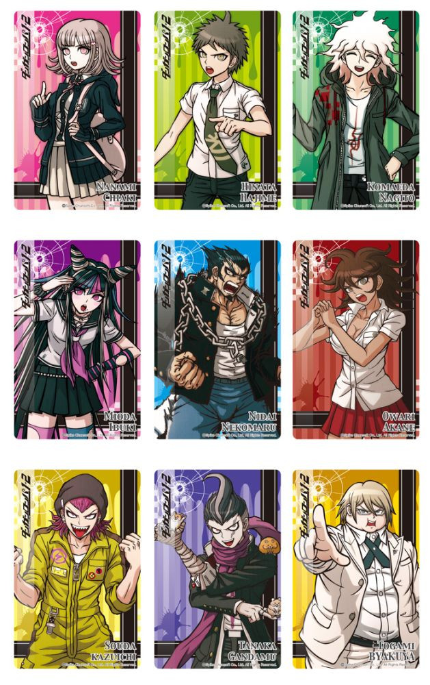 Danganronpa clear file ¥199  or in a box of 12 as well.