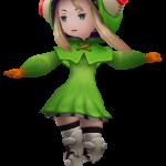 Edea - Magical Girl Raincoat Outfit