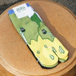 """Tabi-shita"" socks ¥1,296"