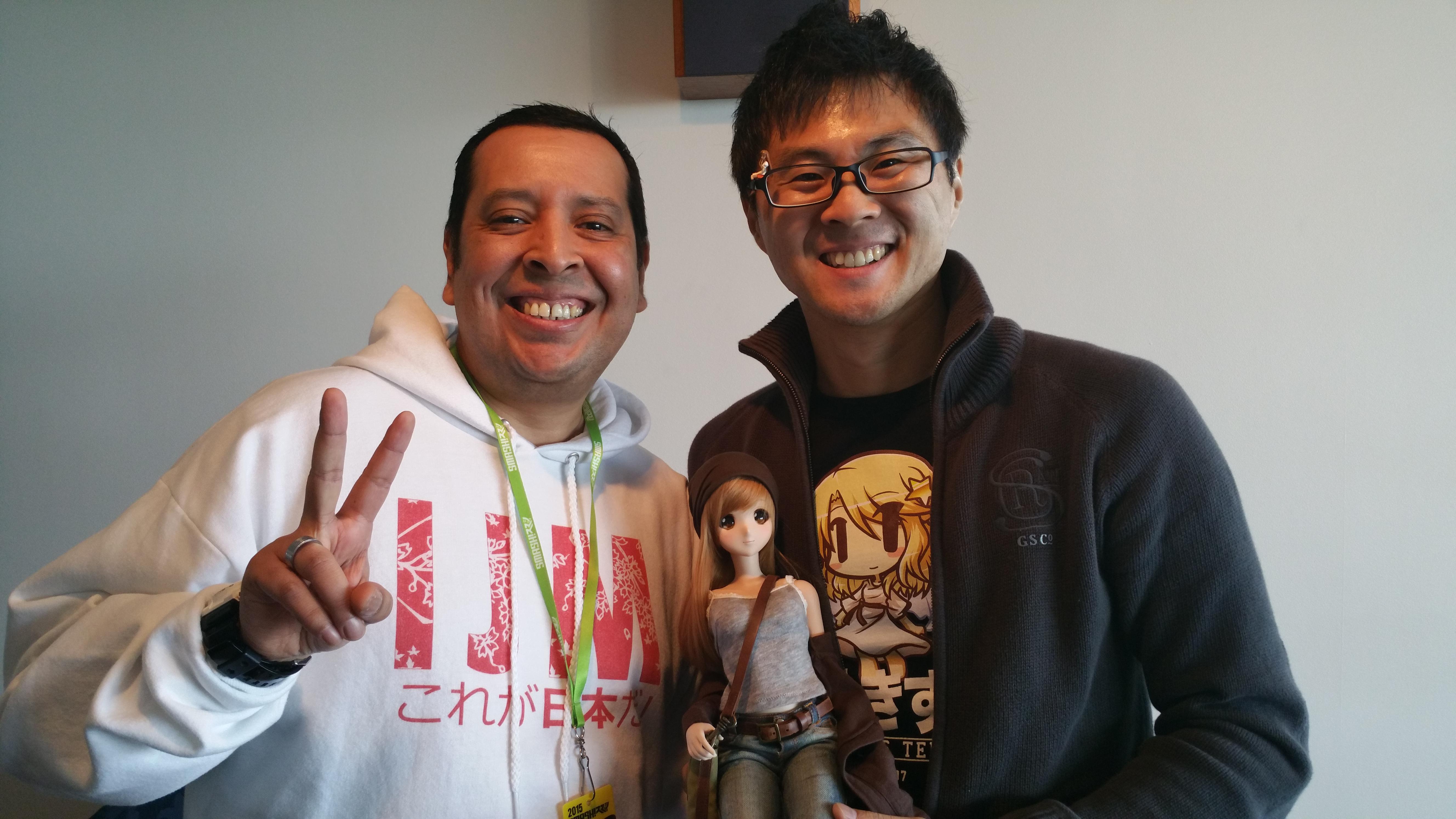 Meeting Danny Choo!